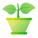 flower, flowerpot, nature, pot icon