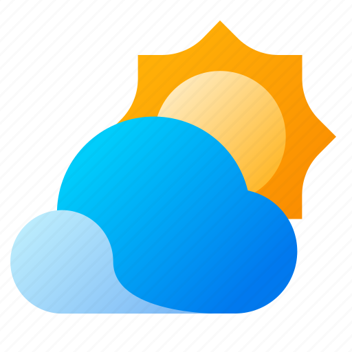 Cloud, summer, sun, weather icon - Download on Iconfinder