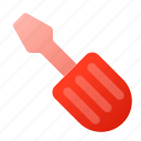 repair, screw, screwdriver, settings, twist icon