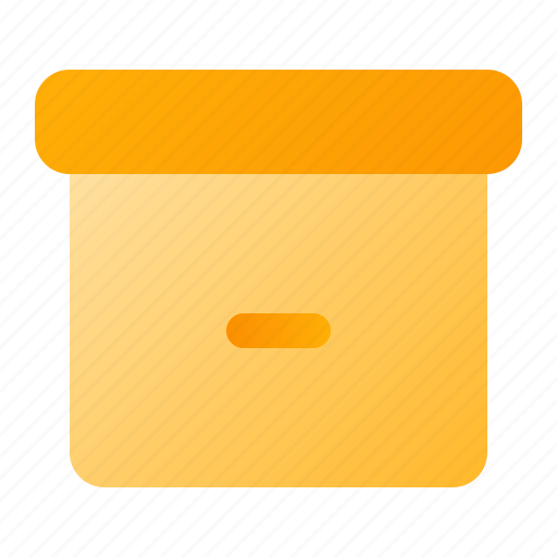 Archive, box, document icon - Download on Iconfinder
