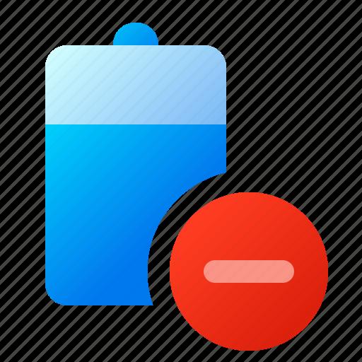 battery, energy, error, offline icon