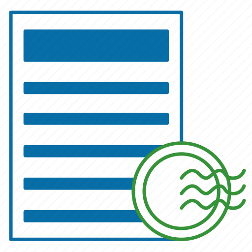 agreement, contract, convention, document, quality, signing icon