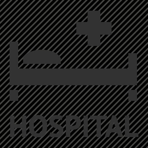 ambulance, first-aid, hospital, hotel service icon