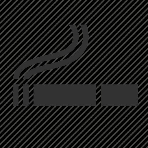 cigarette, hotel service, smoking area icon