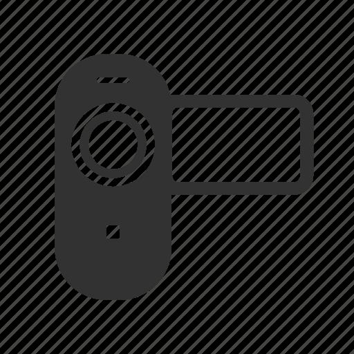 camcorder, hotel service, video camera icon