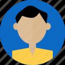 avatar, interface, man, person, profile, ui, user icon