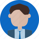 avatar, interface, man, profile, ui, user, web icon
