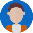 avatar, face, interface, man, profile, user, web icon