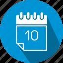 calendar, flat, icon icon