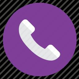 call, calling, contact, minimal, phone, web icon
