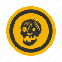 corpse, dead, deathlike, ghost, halloween, haunted, off, spirit, zombi, zombie, zombies icon