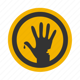 finger, fingers, halloween, hand, horror icon