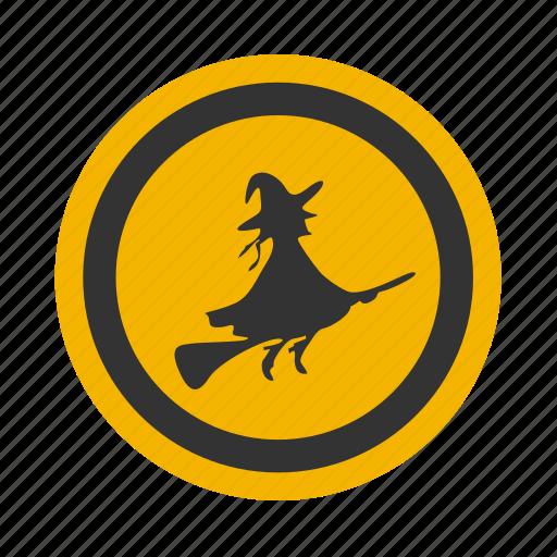 celebration, festive, halloween, holiday, night, october, witch icon