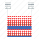 arena, design, football, soccer, sport, stadium icon