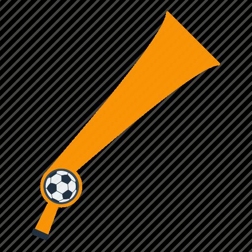design, fan, football, horn, soccer, sport icon