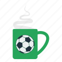 cup, design, fan, football, smoke, soccer icon