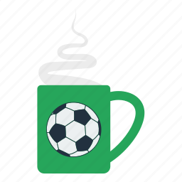 cup, design, fan, football, smoke, soccer icon