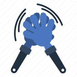 clap, design, fan, football, hands, soccer icon