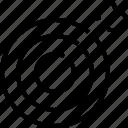 dart, goal, target, winner icon