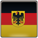 country, flag, germany, national icon