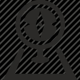 compass, location, navigator, pointer icon