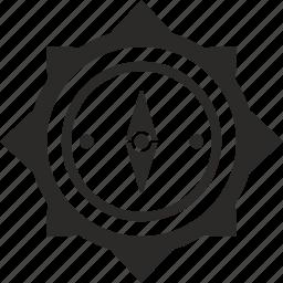 compass, instrument, navigation icon
