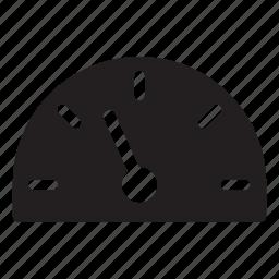elevator, gauge, indicator, pointer, settings, speed icon
