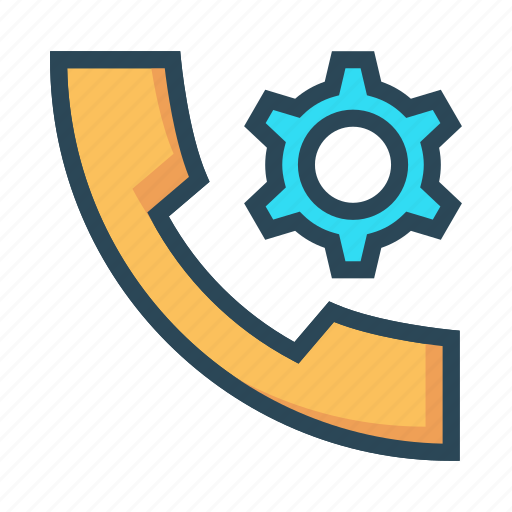Call, configuration, option, phone, setting icon - Download on Iconfinder