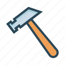 construction, hammer, maintenance, setting, tools icon