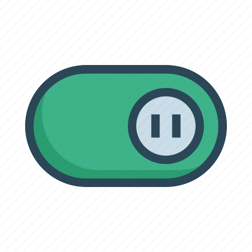 Active, on, slider, switch, toggle icon - Download on Iconfinder