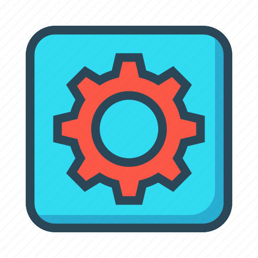 Configuration, gear, option, setting, wheel icon - Download on Iconfinder