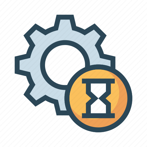 Configuration, hourglass, setting, stopwatch, timer icon - Download on Iconfinder