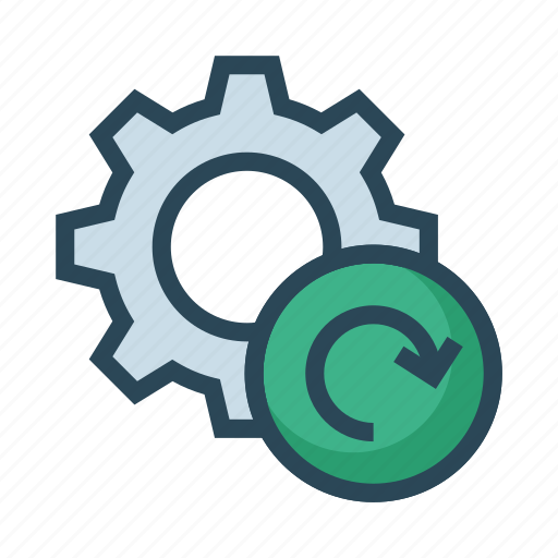 Configuration, redo, refresh, reload, setting icon - Download on Iconfinder