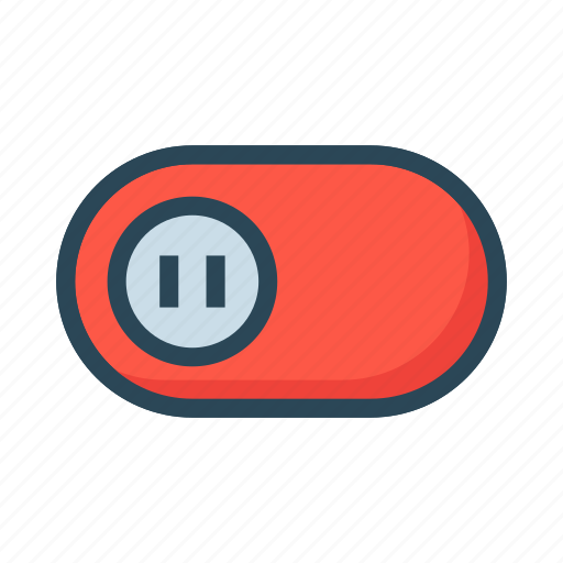 Inactive, off, slide, switch, toggle icon - Download on Iconfinder