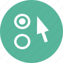 arrow, option, preferences, settings icon