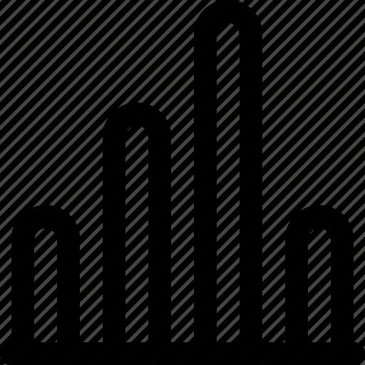 analytics, bar, business, data, graph, line cart icon