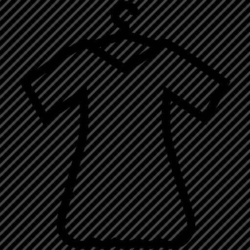 dressmaking, hanger, sewing, shirt, shirt in hanger icon