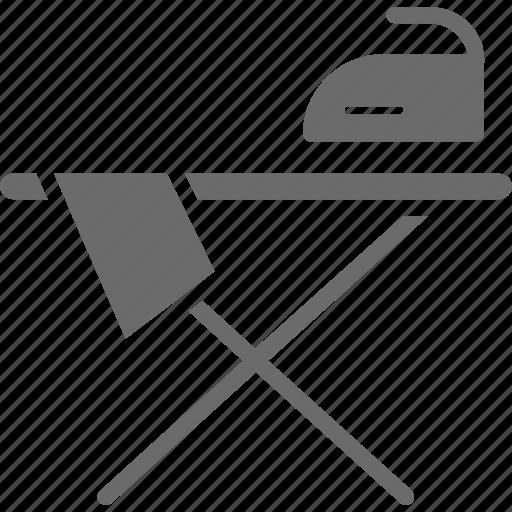clothes, iron, ironing press, press, pressing icon