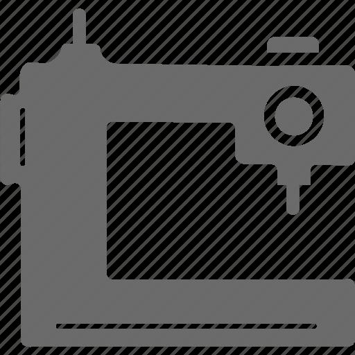 sewing, sewing machine, stitching machine, tailor, tailor machine icon