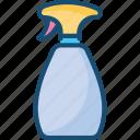 bottle, cap, pump, shower, spray, sprayer, spume