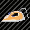 cartoon, equipment, household, iron, repair, tailor, tool icon
