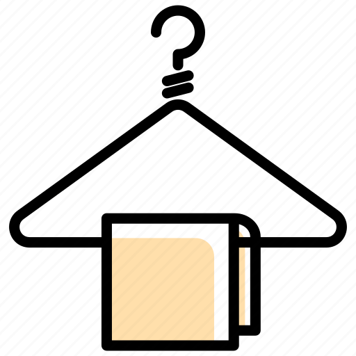 closet, clothing, hanger, tools and utensils, wardrobe icon