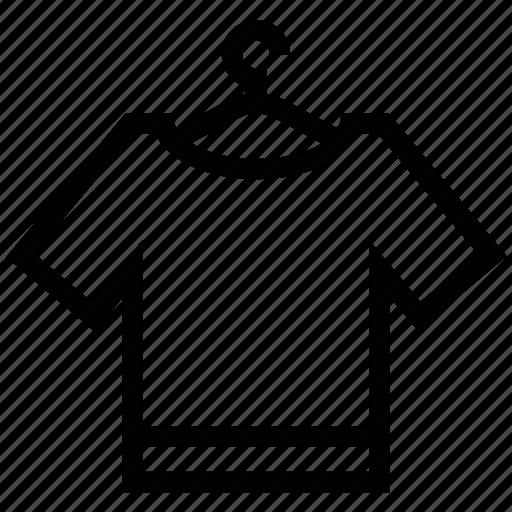 dressmaking, hanger, sewing, shirt, shirt in hanger, stitching icon