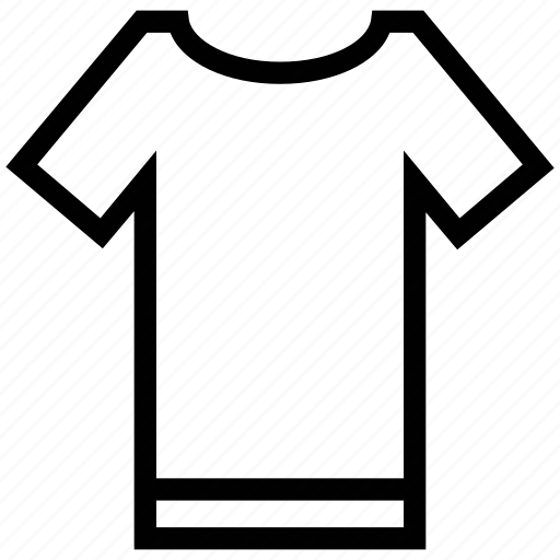clothing, dress, round neck, shirt, sports wear, tee icon