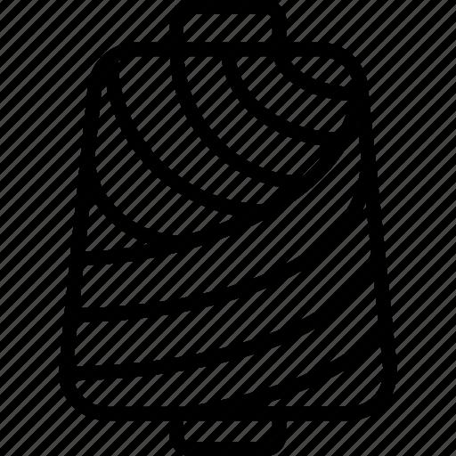 Bobbin, thread roll, yarn cylinder, yarn roll, yarn spindle icon - Download on Iconfinder