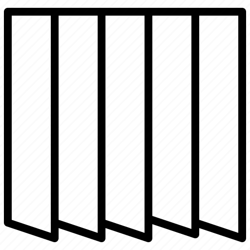 cloth, double, fold, garment, pleat, stitch icon