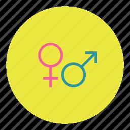 female, gender, male, man, porn, sex, woman icon