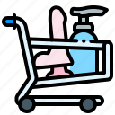 luggage, sex, shop, trolley icon