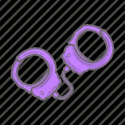 bdsm, bondage, handcuffs, police, porn, sex, sex game icon