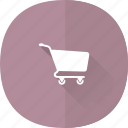 shop, buy, shopping, long, cart, online, shadow, store, money icon
